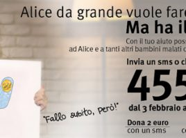 gold for kids Fondazione Umberto Veronesi