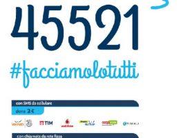 donazioni per i malati di Sma, con Checco Zalone