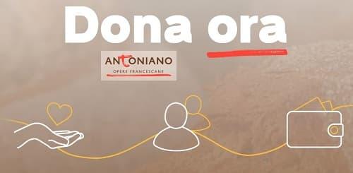 Dona all'Antoniano di Bologna