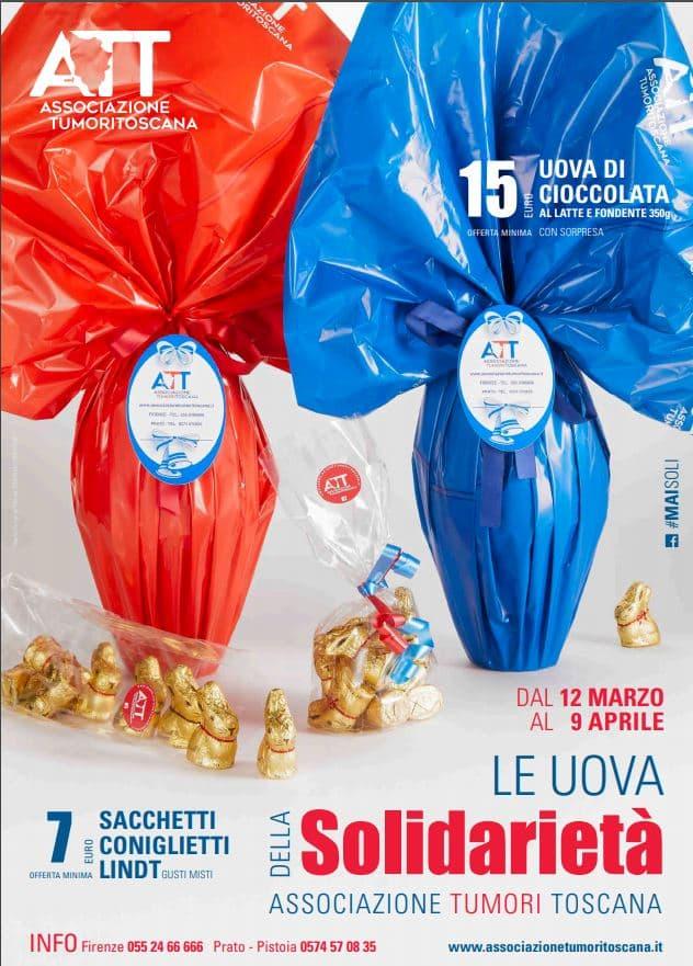 uova di pasqua Associazione Tumori Toscana