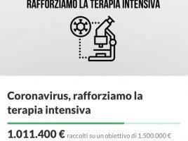 campagna raccolta fondi Ferragnez