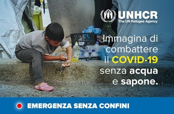 Nazioni Unite per i Rifugiati - emergenza Covid-19